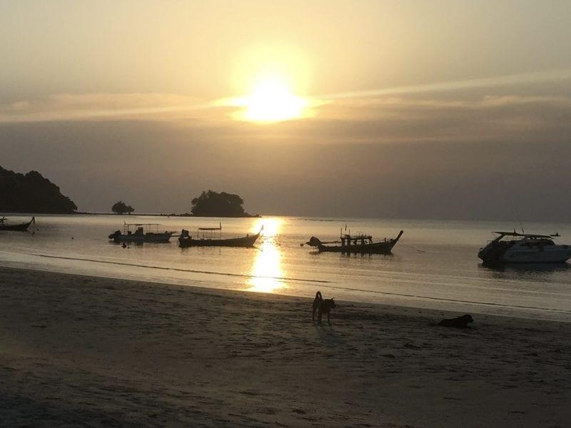 Naiyang sunset Phuket